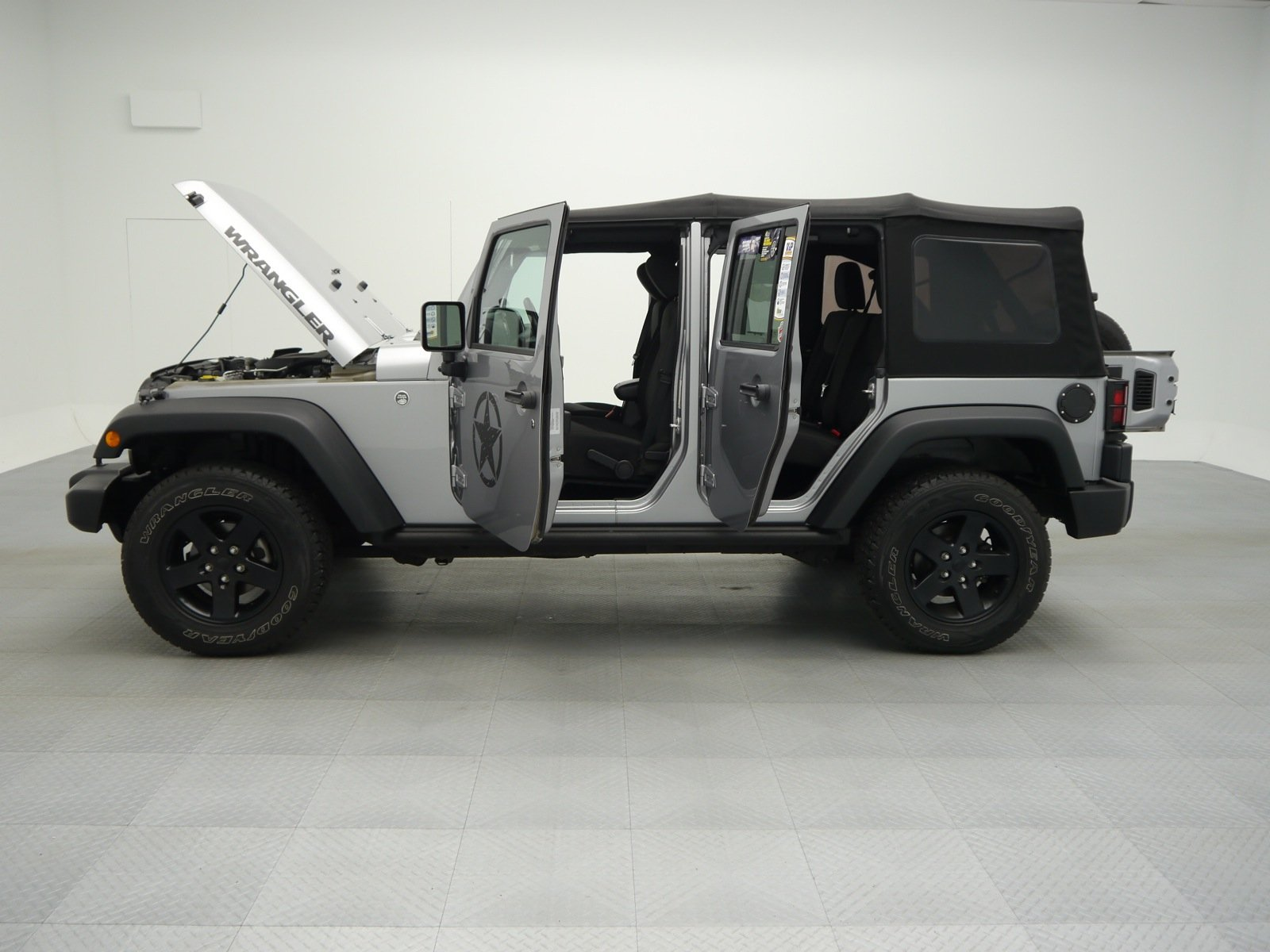 pre-owned 2016 jeep wrangler unlimited black bear convertible