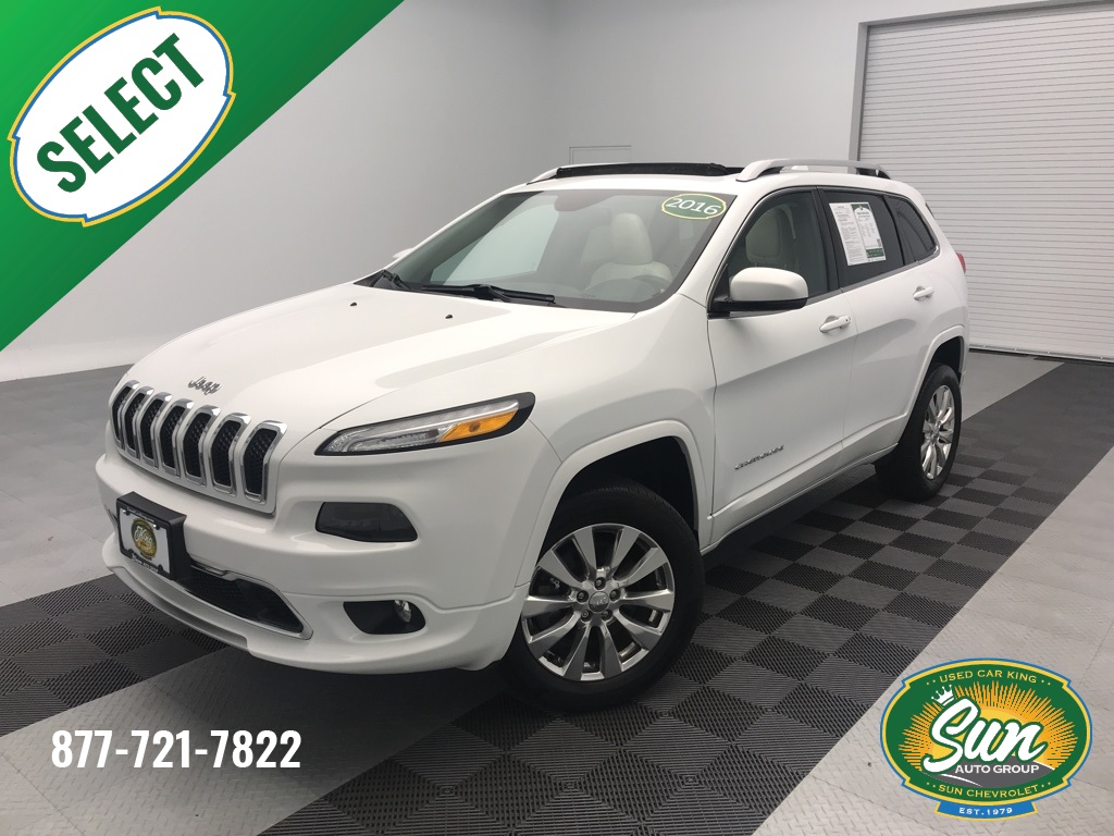 Jeep Cherokee Overland >> Pre Owned 2016 Jeep Cherokee Overland 4d Sport Utility Cicero