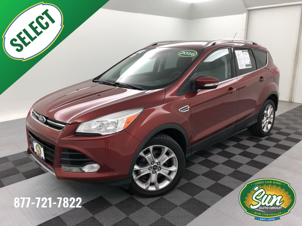 Ford Escape Titanium >> Pre Owned 2016 Ford Escape Titanium 4d Sport Utility