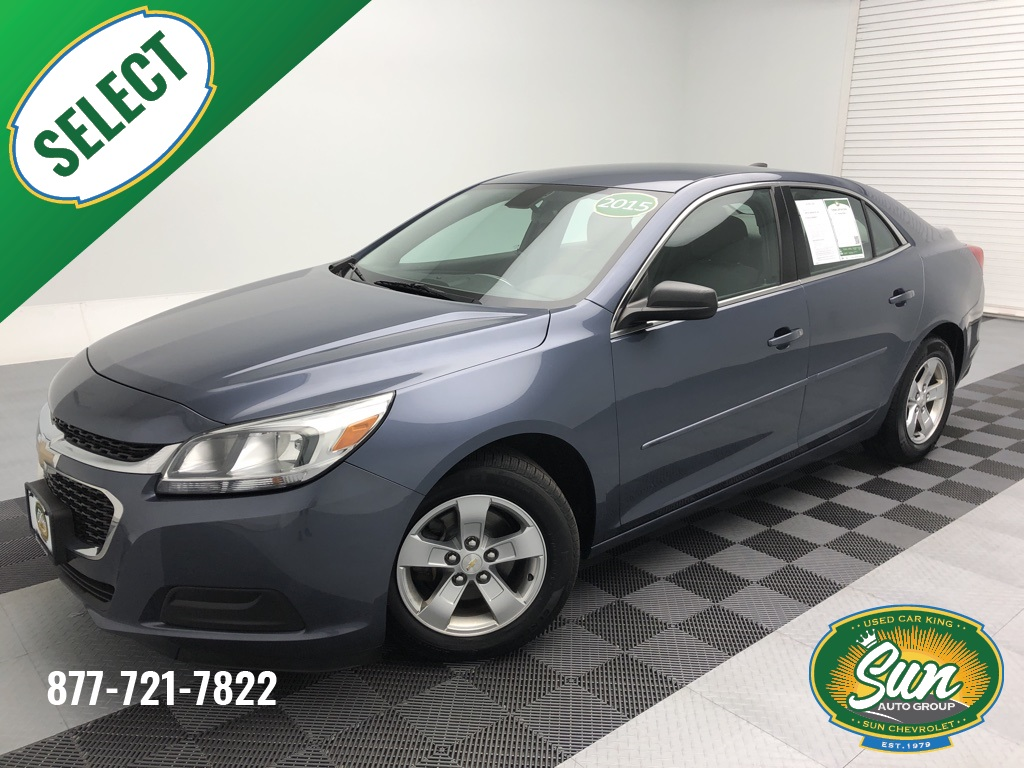 Pre Owned 2015 Chevrolet Malibu Ls 4d Sedan
