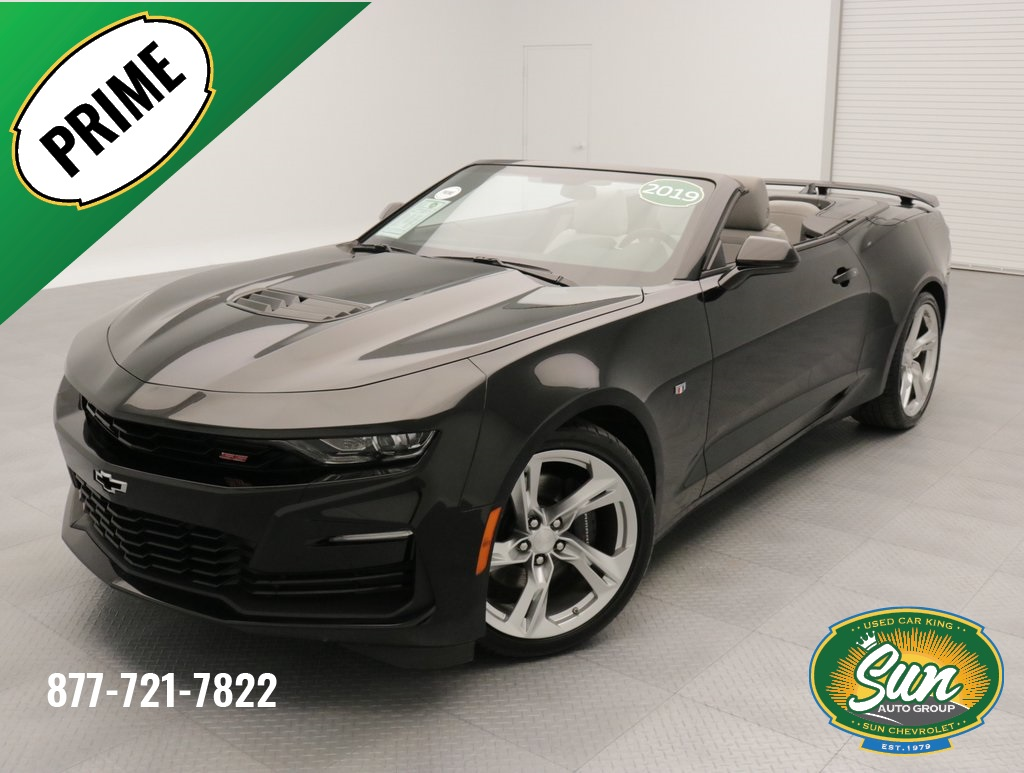 Pre Owned 2019 Chevrolet Camaro Ss 2d Convertible Cicero W34295