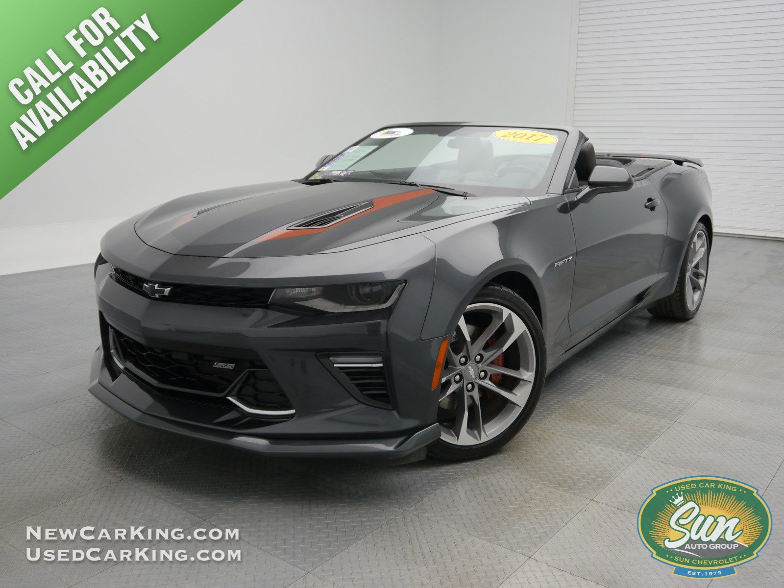 Pre-Owned 2017 Chevrolet Camaro SS 50th Anniversary Edition ...