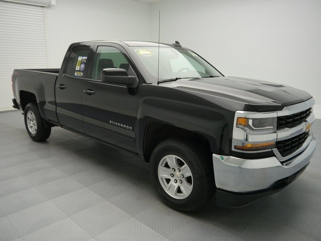Pre-Owned 2018 Chevrolet Silverado 1500 LT 4D Double Cab 4WD