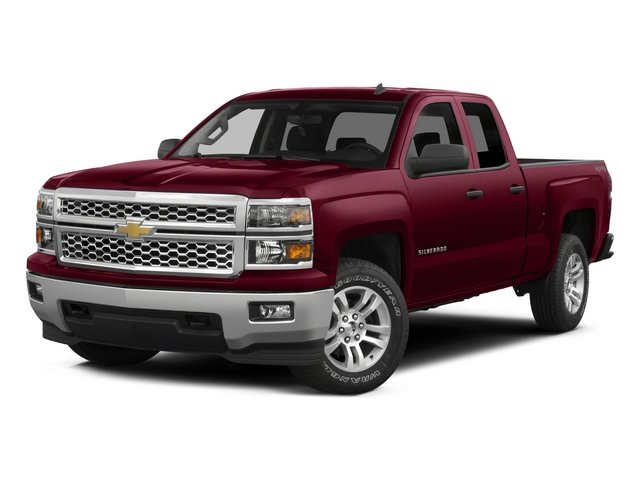 Pre Owned 2015 Chevrolet Silverado 1500 LT Double Cab Pickup
