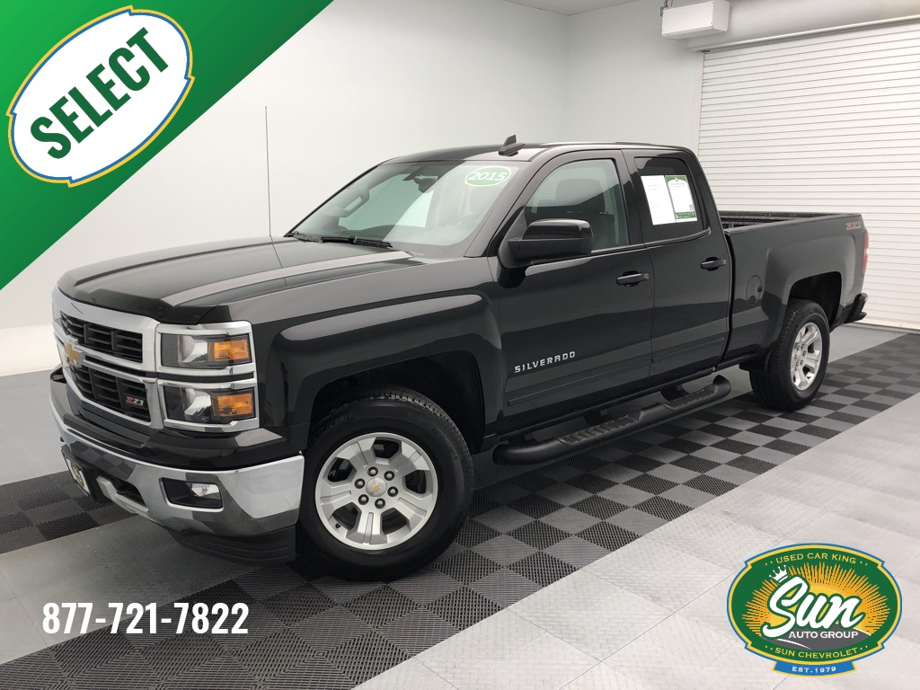 2015 Chevrolet Silverado 1500 Double Cab >> Pre Owned 2015 Chevrolet Silverado 1500 Lt 4d Double Cab
