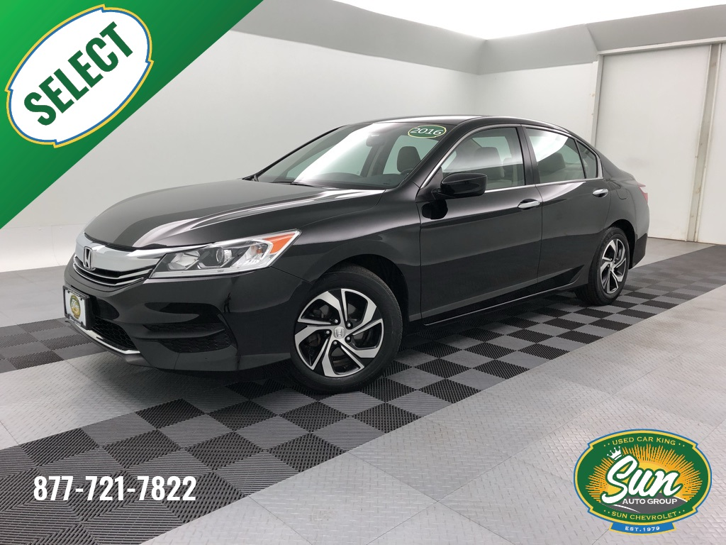 Honda Accord Lx >> Pre Owned 2016 Honda Accord Lx 4d Sedan