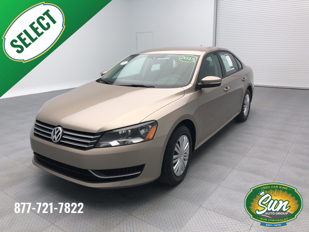 pre owned 2015 volkswagen passat 1 8t s 4d sedan cicero. Black Bedroom Furniture Sets. Home Design Ideas
