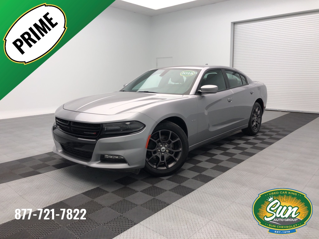 2018 Dodge Charger >> Pre Owned 2018 Dodge Charger Gt 4d Sedan
