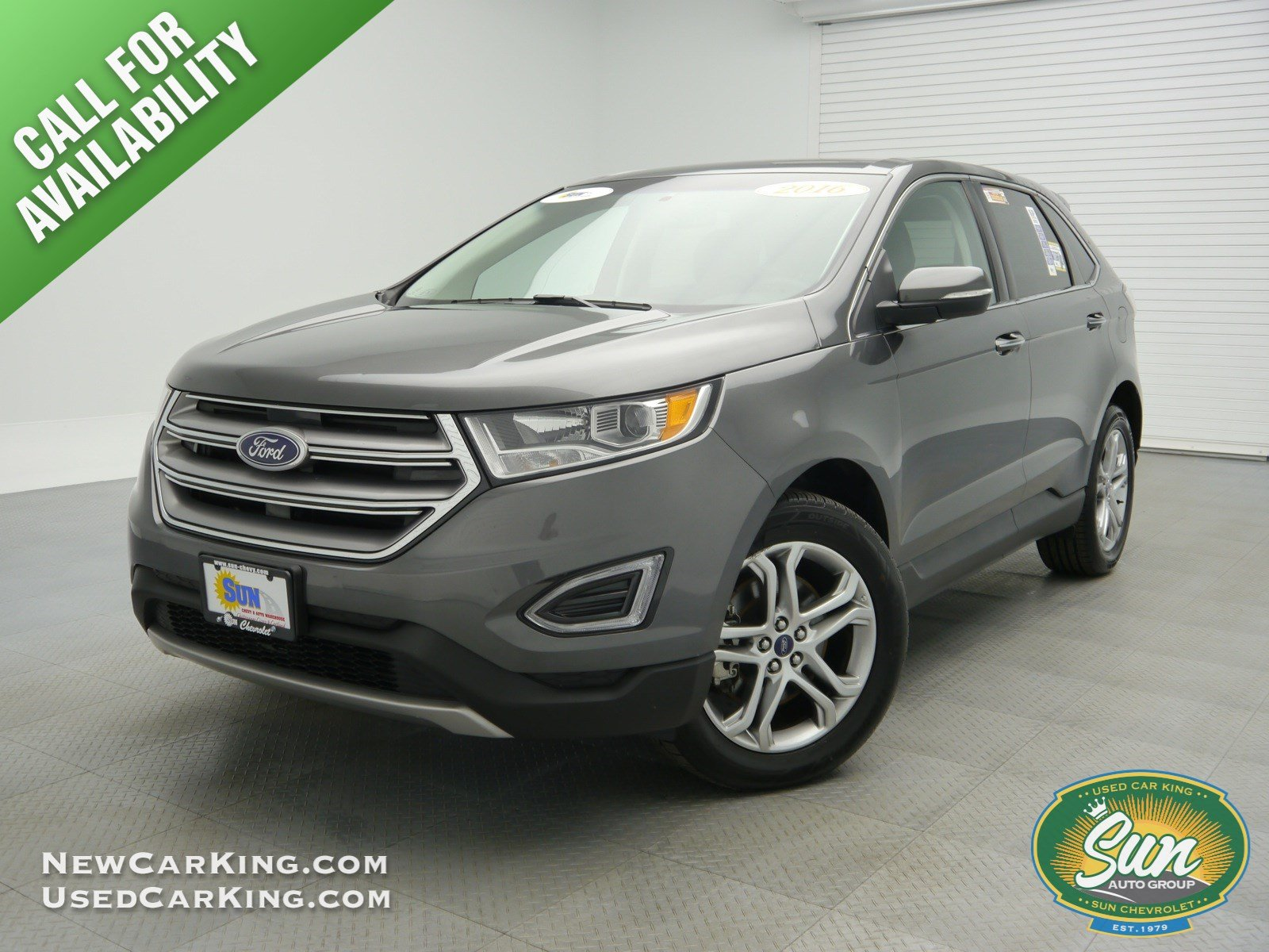 PreOwned Ford Edge Titanium AWD Sport Utility Cortland - Sport vehicles 2016