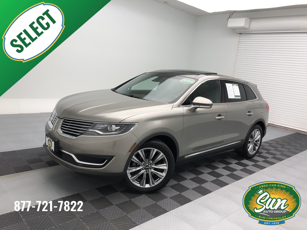 Sun Chevy Chittenango >> Pre-Owned 2016 Lincoln MKX Reserve 4D Sport Utility ...
