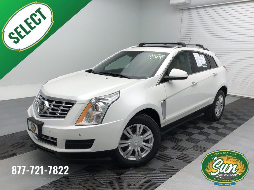 Pre-Owned 2015 Cadillac SRX Luxury 4D Sport Utility