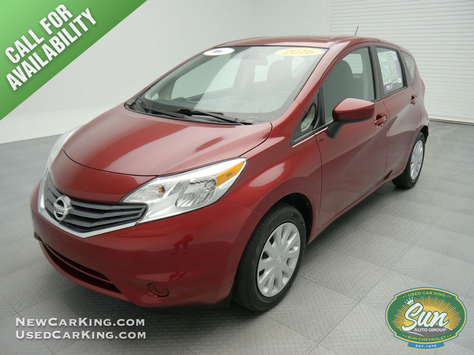 pre owned 2016 nissan versa note sv hatchback chittenango p52285 chittenango ny used car king. Black Bedroom Furniture Sets. Home Design Ideas
