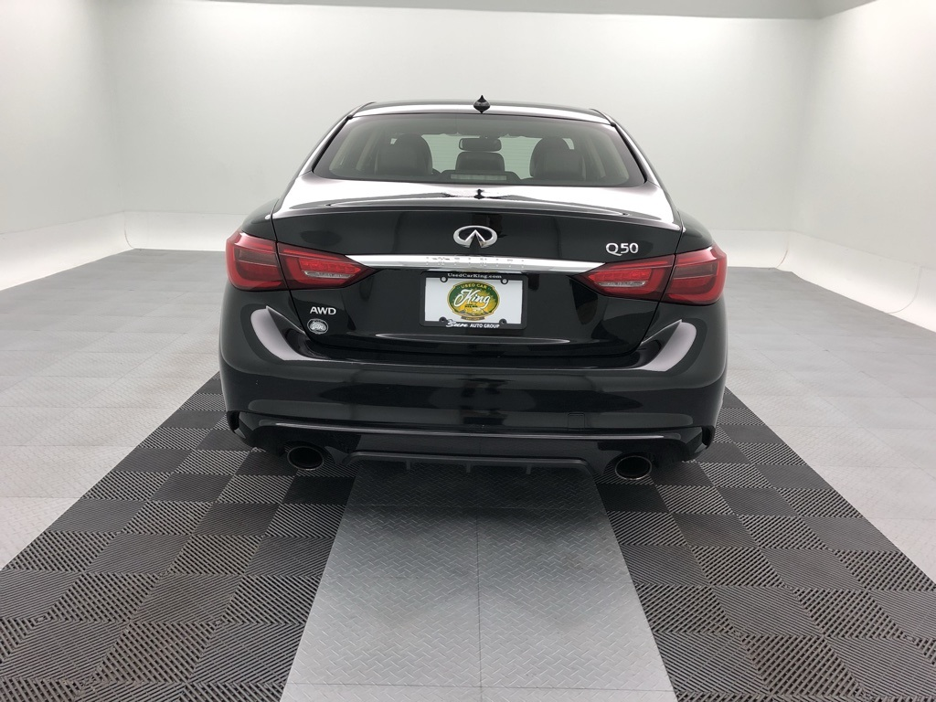 Pre-Owned 2018 INFINITI Q50 3.0t LUXE