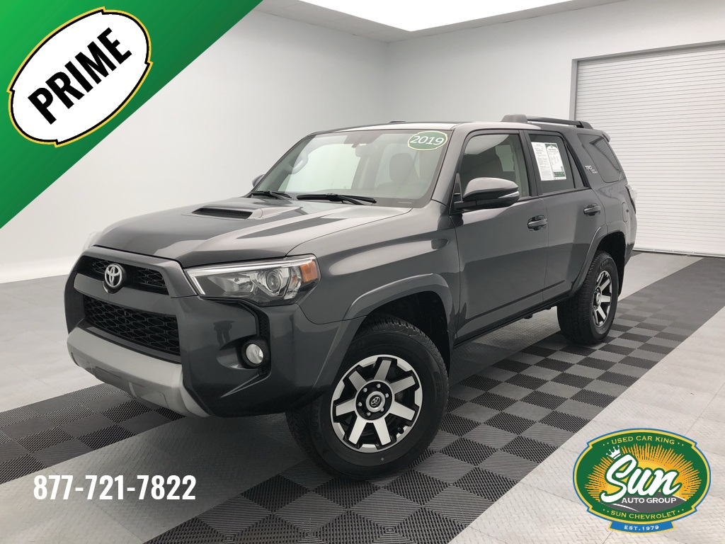 Toyota 4Runner Off Road >> Pre Owned 2019 Toyota 4runner Trd Off Road Premium 4d Sport Utility