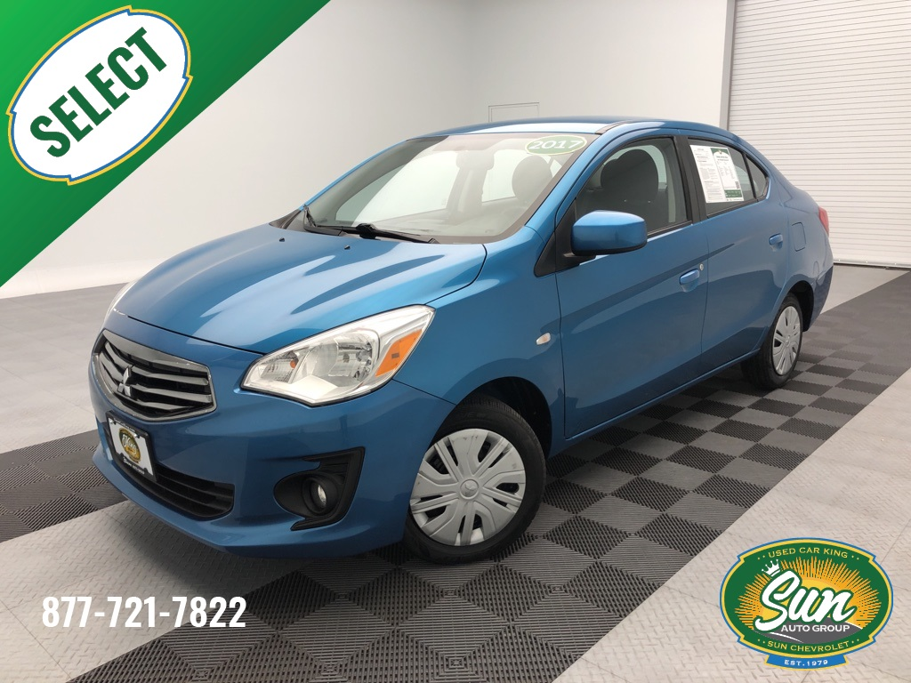 Pre-Owned 2017 Mitsubishi Mirage G4 ES