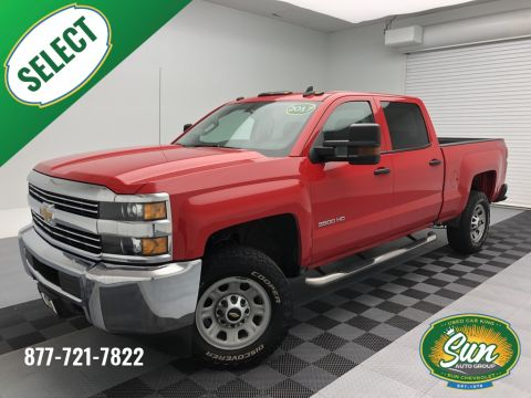 Pre-Owned 2017 Chevrolet Silverado 3500HD Work Truck