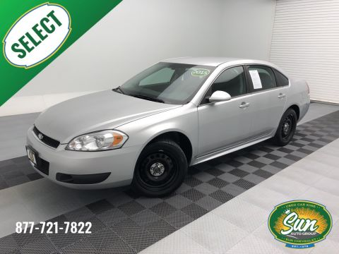 Pre-Owned 2015 Chevrolet Impala Limited Police